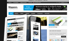 Magazon – Premium wordpress theme
