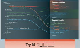 Intention.js – dynamically restructure HTML