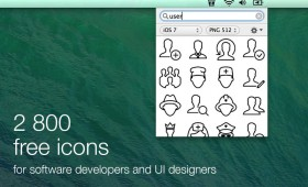 2800 free Icons for Developers in one APP