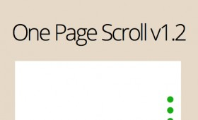 One Page Scroll