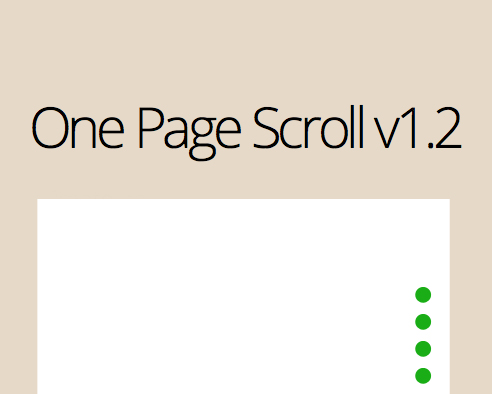 one-page-scroll
